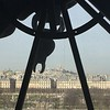 Paris from inside the Orsay clock.