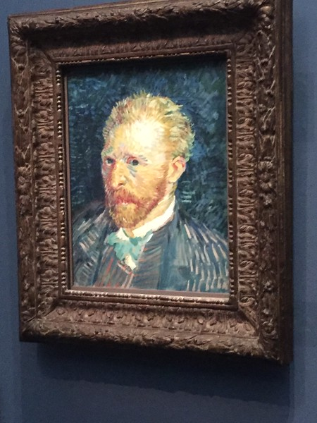 Van Gogh self-portait