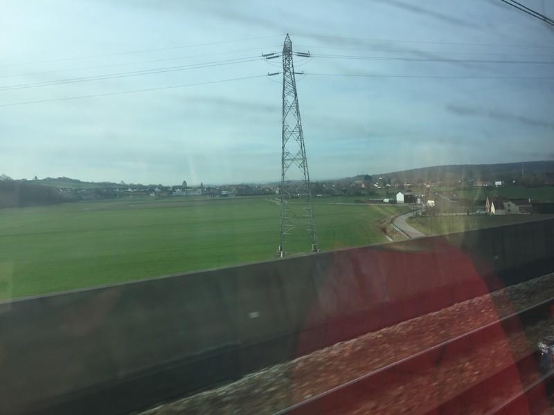 TGV to Paris, France