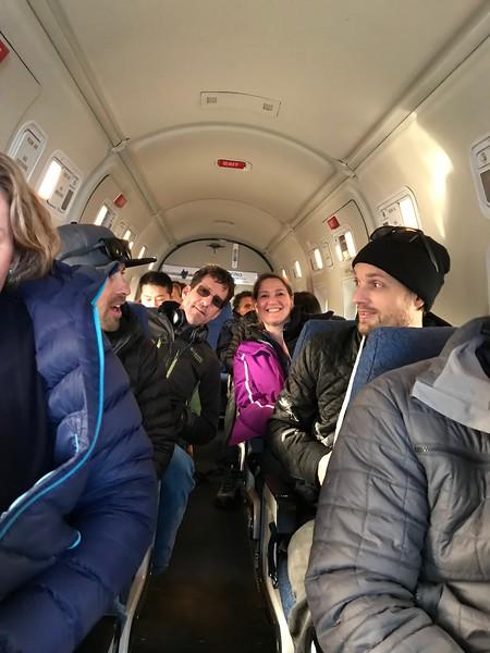 2018-02-10  Charter flight to Bella Coola