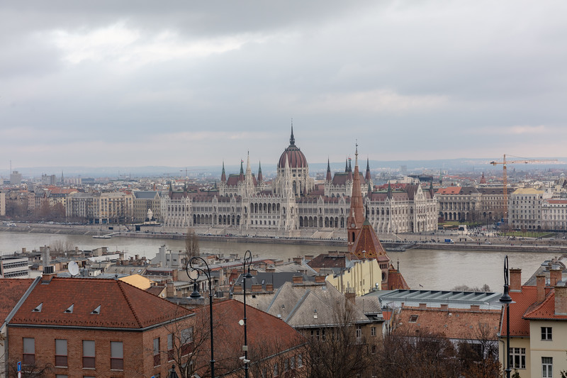 Parliment House from Fisherman's Bastion