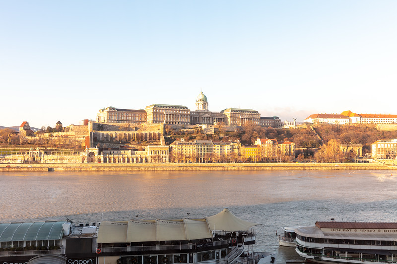 Buda Castle - View from Our Room