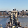 Szechenyi Chain Bridge with St. Stephen's Basilica in the background