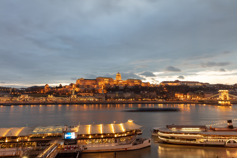 Buda Castle - View from Room