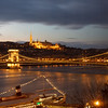 Szechenyi Chain Bridge with Matthias Church & Fisherman's Bastion - View from Room