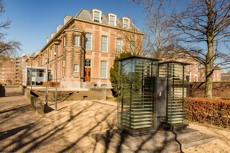 The ethnological museum, backside.