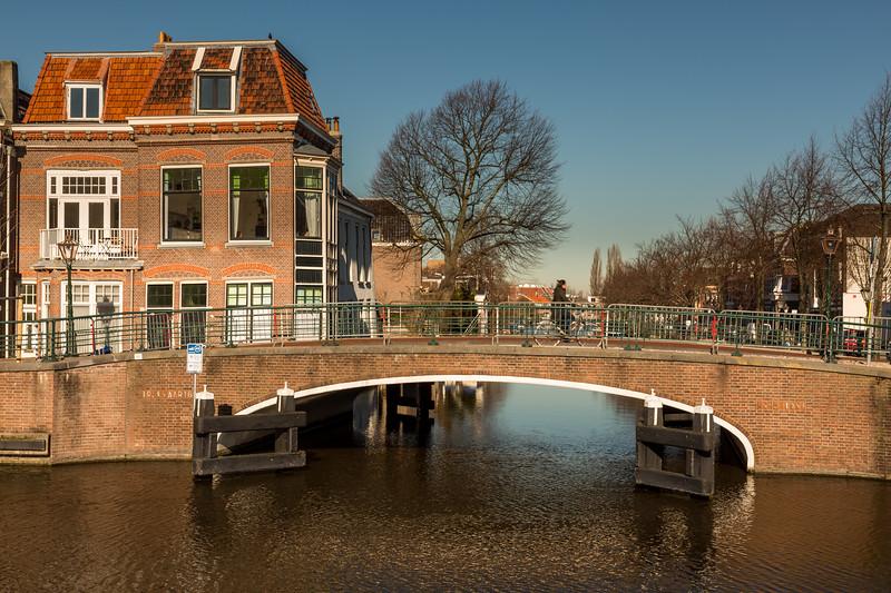 An old bridge across the canal.