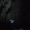 inside the blue cave near split
