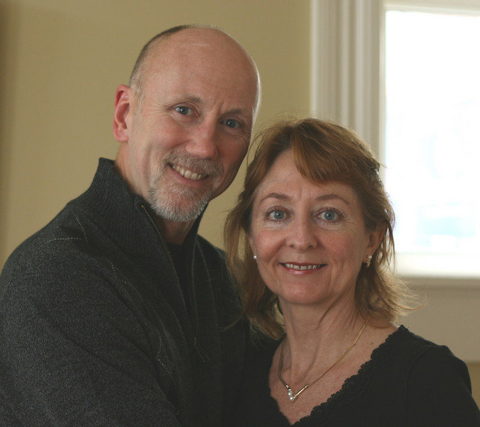 Joe and Sherry celebrate 20 years in October, 2008