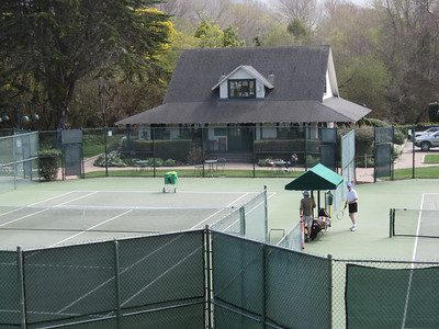 Mission Tennis Ranch, Carmel, little changed since 1973