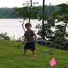 Owen trying to hula hoop