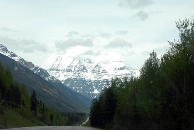 The road to Alberta