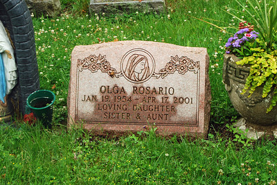 002 Grave of sister of the two brothers lost in Clinton River