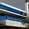 ANZ Now Open 7 Days!<br /> That's a novel concept a bank which opens 7 Days a week. When my Australian bank used to be a building society it had really good opening hours. After it became a bank it reduced it's opening hours to 5 days a week 9:00-16:30! Now I live in Japan where even the ATMs close after hours, but at least there's no account keeping fees in Japan!