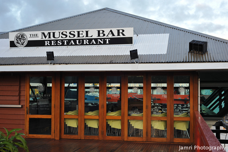 The Mussel Bar.<br /> In morning light.