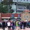 Outside of Subi Oval.<br /> Subiaco Oval the home of Australian Rules football in Western Australia. Where I went to watch the Fremantle Dockers take on the Sydney Swans.