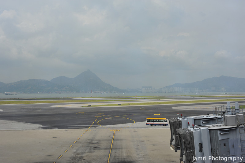 A View of Hong Kong.<br /> Taken while in transit at Hong Kong Airport.