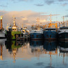 Fishing Boat Harbour Reflections.
