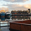 A quiet morning at fishing boat harbour.
