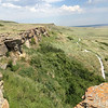 "Visting ""Head-Smashed-In Buffalo Jump"" national park"