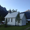 Church in Field near AB border