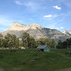Our campsite in Waterton National Park