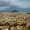 City of Athens with Mount Lycabettus in the background