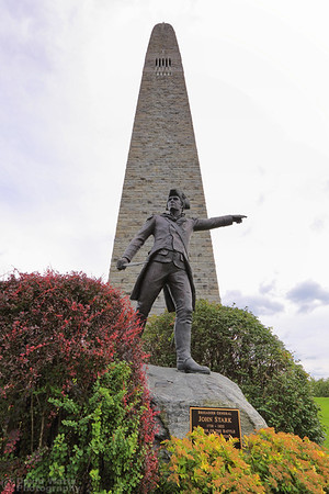 John Stark Statue at Bennington Battle Monument