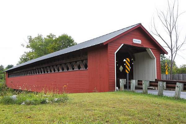 Paper Mill Covered Bridge, Bennington, Vermont