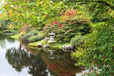 Azalea Garden in Northeast Harbor, Maine