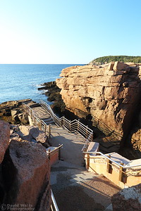 Thunder Hole is Silent - Acadia National Park