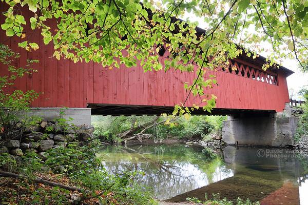 Silk Road Covered Bridge, Bennington, Vermont
