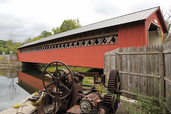 Paper Mill Covered Bridge, Bennington, Vermont