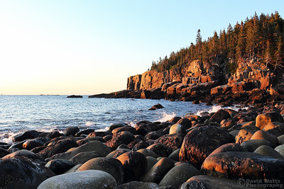 Otter Cliff on Boulder Beach - Acadia National Park