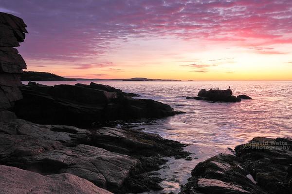 Sunrise at Monument Cove