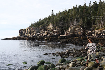 Otter Cliff on Boulder Beach - Acadia National Park