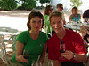 Anne Marie and Robbert at our wine tasting.