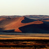 In the dunes of Namibia