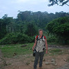 Tim at the entrance to Kakum National Park.