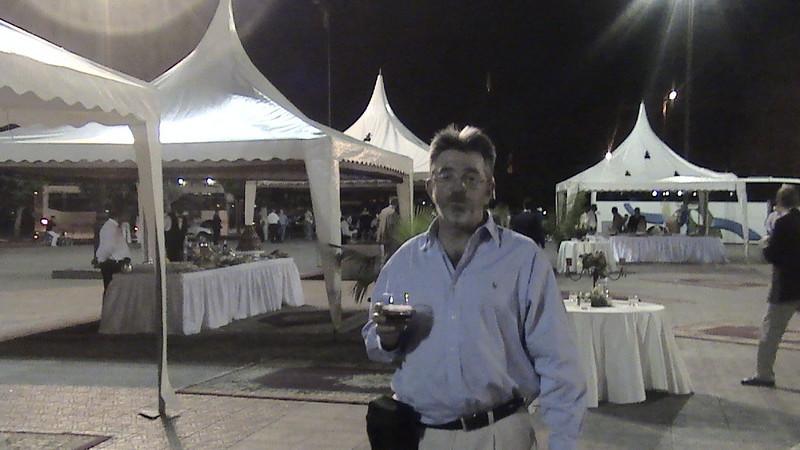 Alan at reception of World  Congress of Neurological Surgery, Marrakech