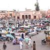 Souq in Marrakech.