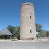The lookout tower, Okaukuejo Rest Camp, Etosha NP, Namibia