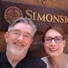 Kim and Alan at Simonsig.