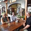 Mel, Steve and Alan in Stellenbosch.