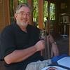 Alan  wine tasting at Delaire Graff estate.