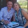 Mel and Steve wine-tasting