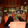 Inside our Chalet at Thunzi Bush Lodge.