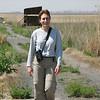Kim at Marievale Bird Sanctuary.