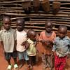 Children at the drum shop.