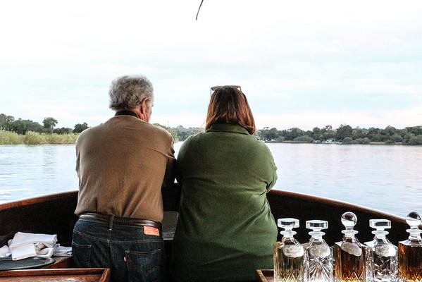 Lindsey and Bob on Boat 2